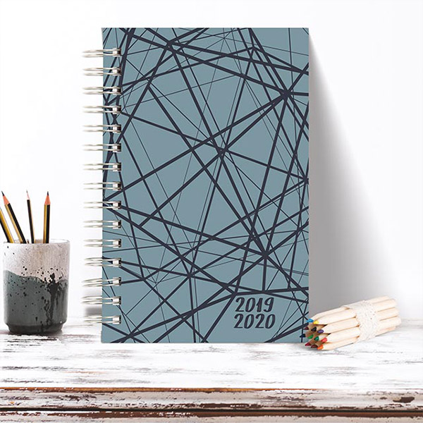 New Soft Touch Laminated Lines 2019-2020 Planners!